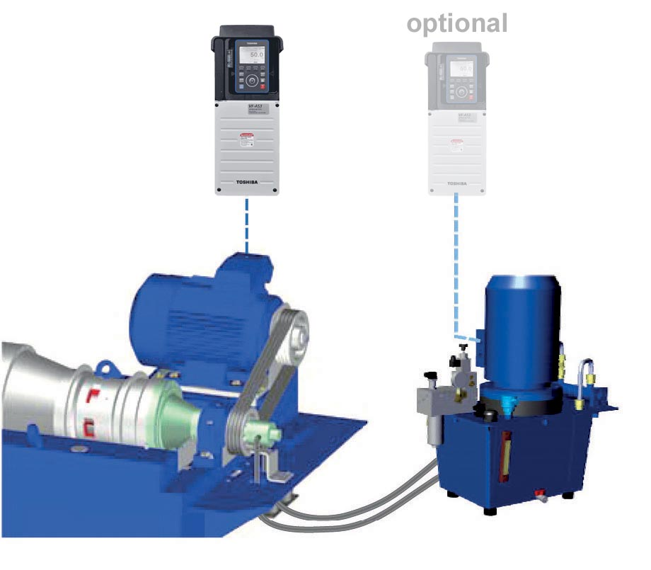 Hiller hydraulic drives