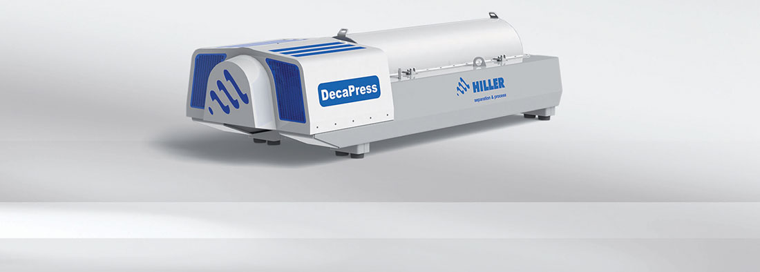 Hiller Decanter DecaPress DP48