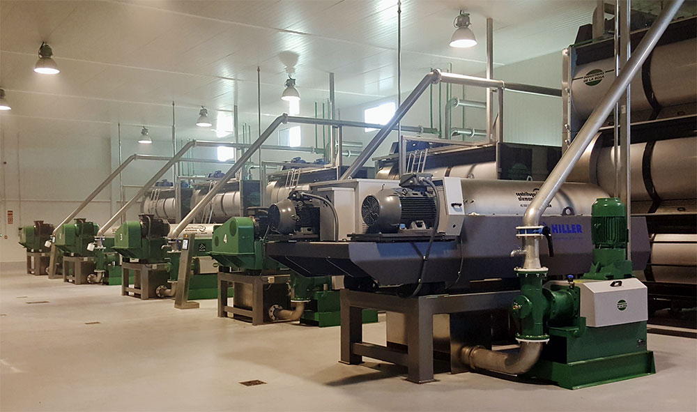 Hiller Olive Oil Extraction Spain